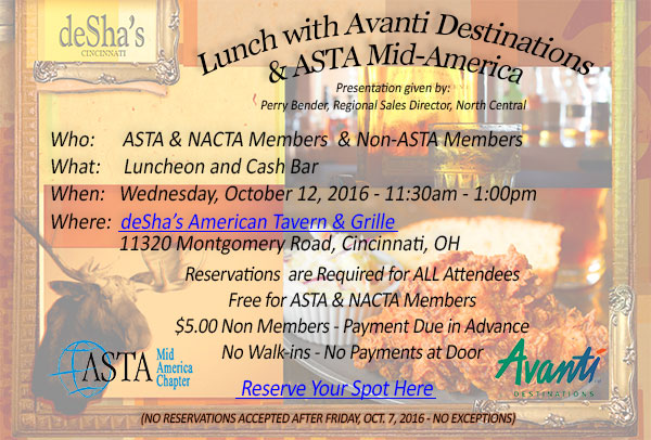 ASTA Mid America Chapter Event - Events - ASTA